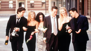The cast of Friends: Schwimmer feared he would be unable to come out of the Friends' spotlight.