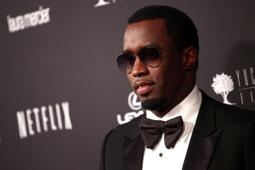 Sean Combs attends the Weinstein Company's 2014 Golden Globe Awards after party on January 12, 2014 in Beverly Hills, California.