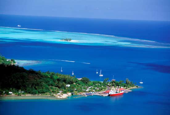 19 枚のスライドの 9 枚目: The French Polynesian islands were the favoured honeymoon destination for Australian actress Nicole Kidman and with her country singer-songwriter husband Keith Urban.
