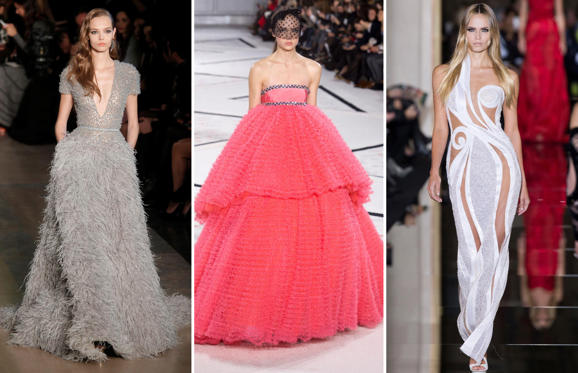 Slide 1 of 23: With 2015 Academy Awards not far away, The Independent has come up with the prediction of gowns from the spring/summer 2015 couture shows that might make an appearance at the Oscars.