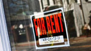 A rent sign is seen in Riverhead, New York, March 22, 2012.   Shannon Stapleton/Reuters
