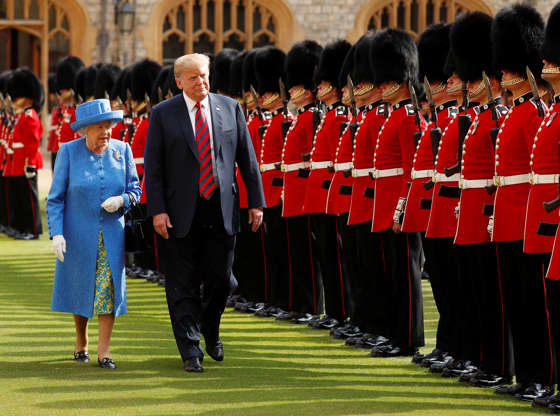 'Where Are Your Manners?' British Politicians Outraged At Trump AAA1XSH