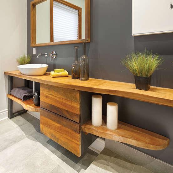 10 idées pour relooker la salle de bain à petit prix