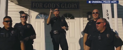 Police departments take on lip sync challenge