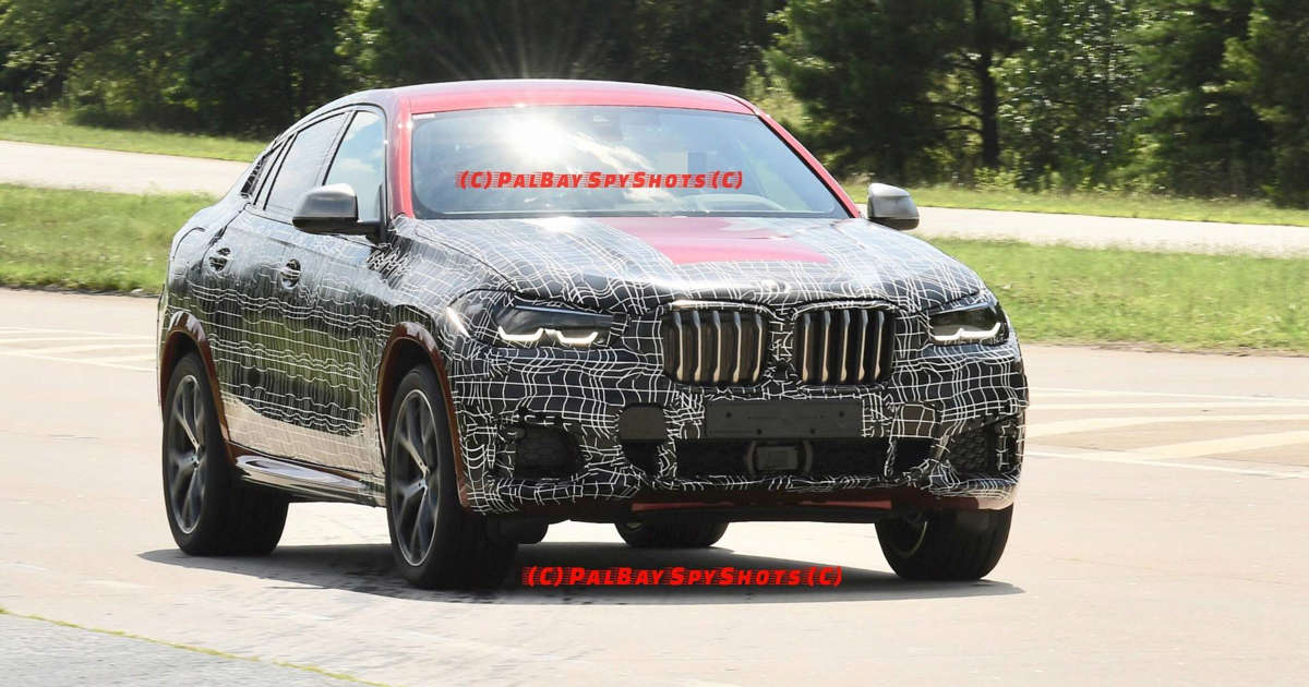2020 Bmw X6 Caught With Full Production Body In M50i Specification