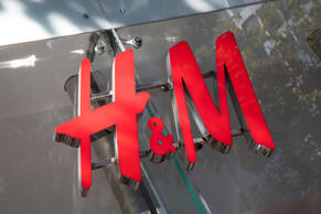 Sign for the high street clothing brand H&M in Birmingham, United Kingdom. (photo by Mike Kemp/In PIctures via Getty Images)