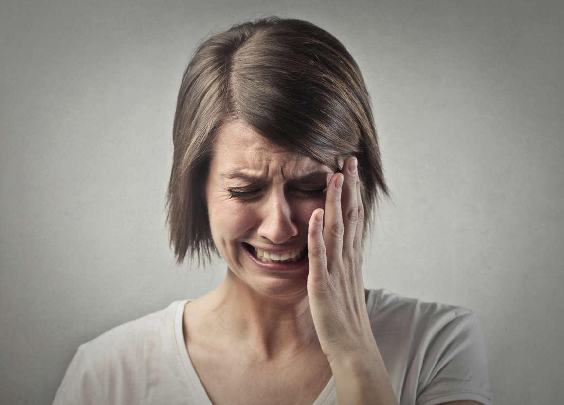 femme cancer qui pleur
