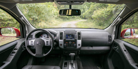 The Nissan Frontier has an ancient interior design and a limited list of desirable options.