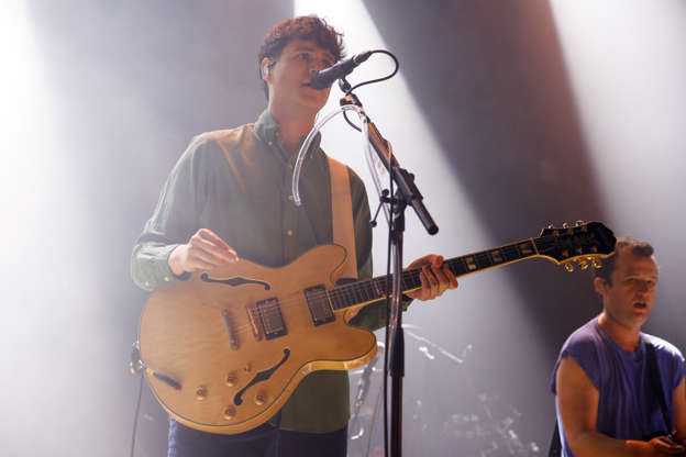 For Vampire Weekend, East Coast prep is out, and L A  dad