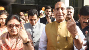 LS polls: Rajnath Singh, Mayawati vote in phase 5