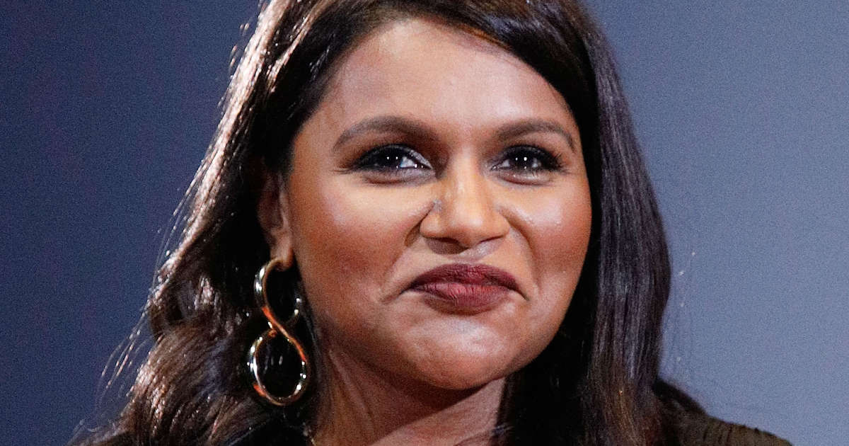 6f377f928 Mindy Kaling Goes Blonde at 2019 Met Gala — and Stuns in a Gold Sequin Dress
