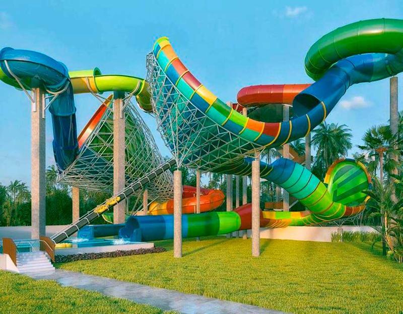 O Vainkará é a 19ª atração do Beach Park e custou R$ 15 milhões. Ele tem 25 metros de altura com duas rampas que em trechos deixa as boias em posição praticamente vertical