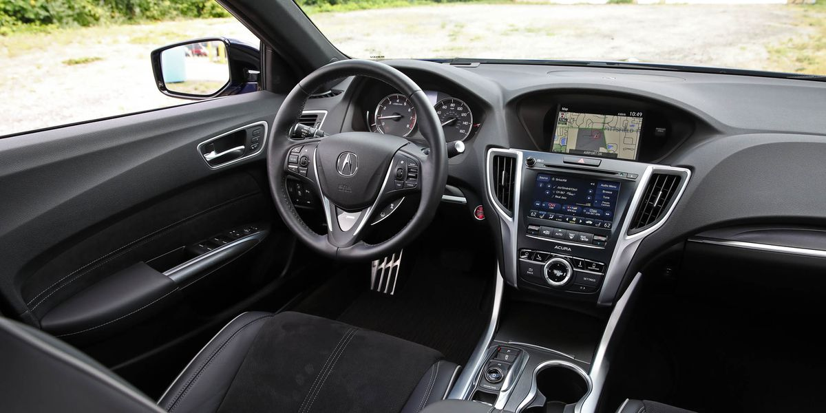 2019 Acura Tlx Interior And Passenger Space