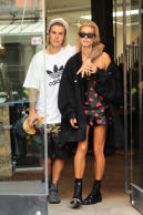 NEW YORK, NY - JULY 27: Justin Bieber and Hailey Baldwin are seen on July 27, 2018 in New York City.  (Photo by BG024/Bauer-Griffin/GC Images)