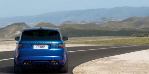 Cargo Space and Storage: The Range Rover Sport Supercharged has less cargo space than many competitors, but it still offers enough storage for most everyday usage.