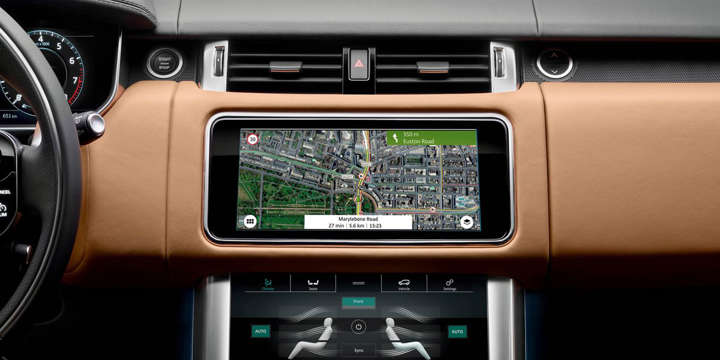 2018 Range Rover Sport – Audio and Infotainment