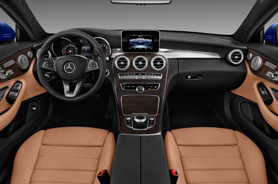 2017 Mercedes Benz C Class C300 4matic Coupe Interior Photos Msn
