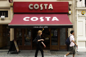 Coca Cola to spend £3.9bn purchasing UK coffee business Costa Coffee