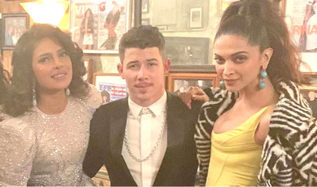 Priyanka Chopra and Deepika Padukone are the Angels to Nick