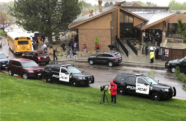 1 Student Dead, At Least 7 Injured In Colorado School Shooting, Authorities Say AAB2J17