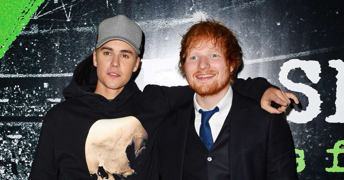 Ed Sheeran and Justin Bieber Announce New Single 'I Don't Care'