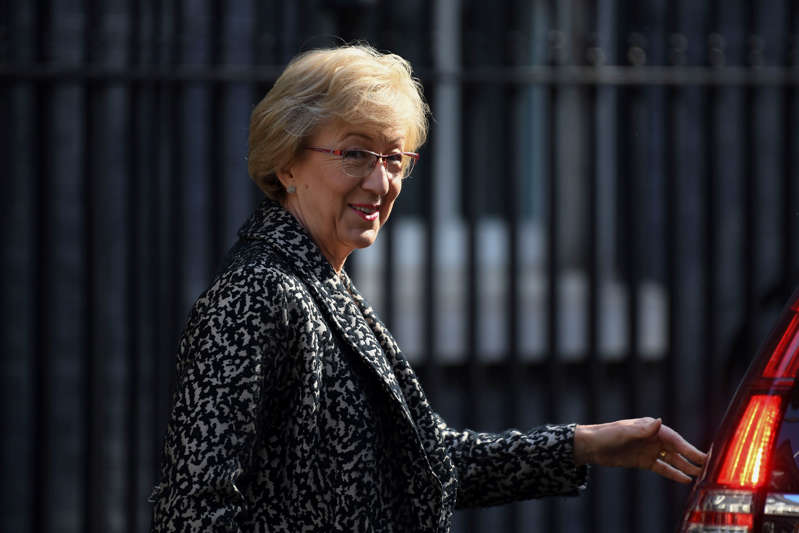 Commons Leader Andrea Leadsom.