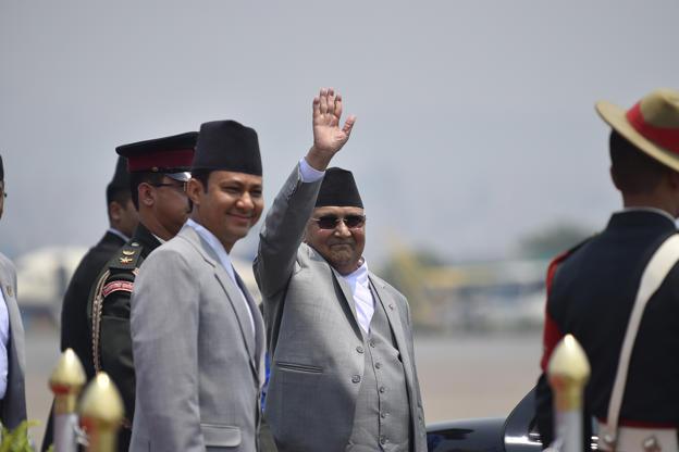 प्रधानमन्त्री केपी शर्मा ओली आज स्वदेश फर्कँदै