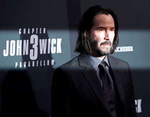 "Cast member Keanu Reeves arrives for a screening of the movie ""John Wick: Chapter 3 - Parabellum"" in Los Angeles, California, U.S. May 15, 2019. REUTERS/Mario Anzuoni     TPX IMAGES OF THE DAY"