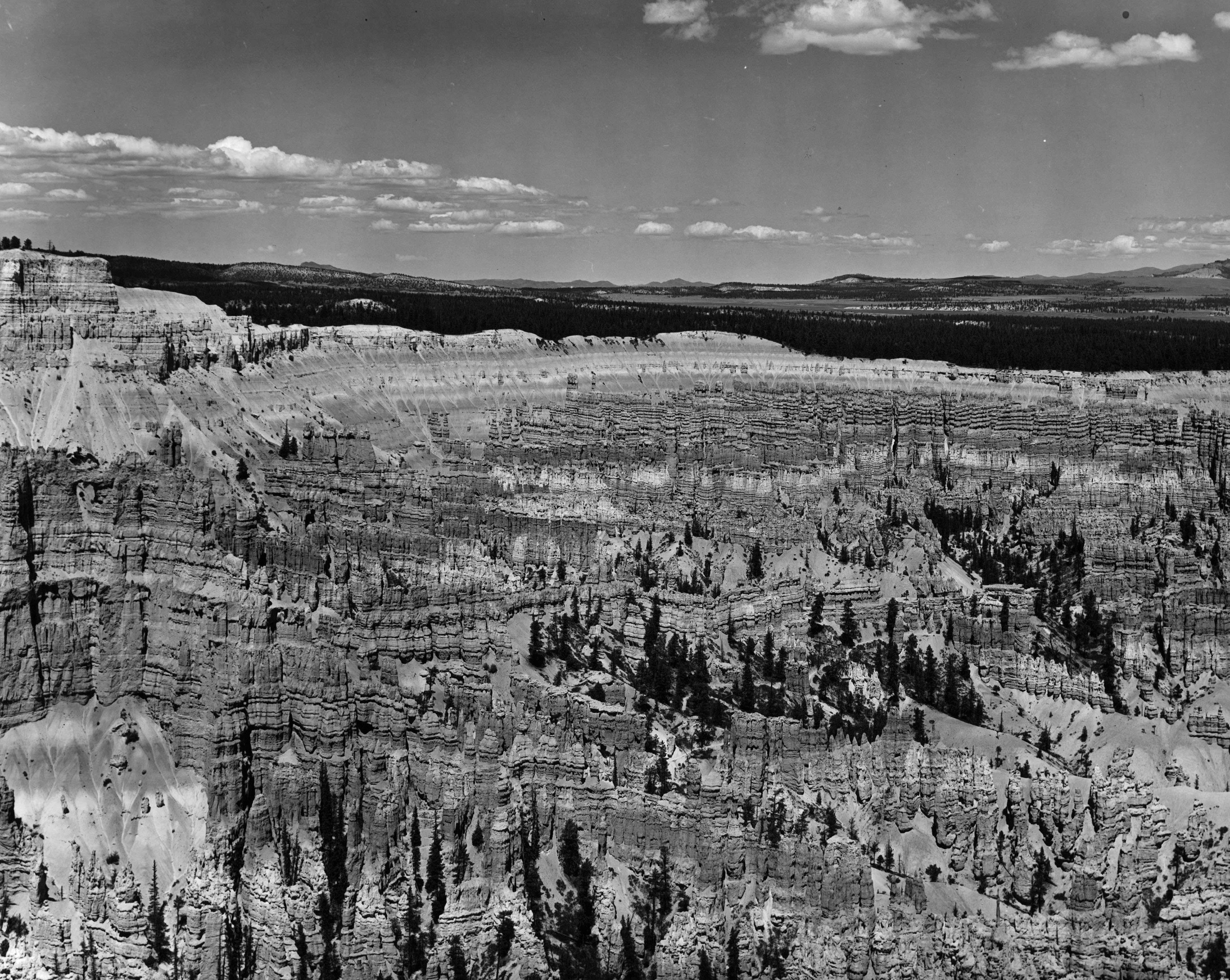 Slide 26 of 55: Bryce Canyon In Utah, 1955. (Photo by Al Greene Archive/Archive Photos/Getty Images)
