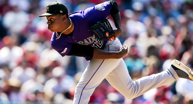 huge discount 346b9 1ca7d Yency Almonte #62 News, Stats, Photos - Colorado Rockies ...