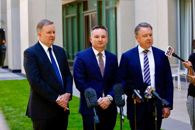 Chris Bowen pulls out of Labor leadership battle after