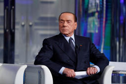 Italian politician Silvio Berlusconi during the TV show Porta a Porta. Rome, May 21th, 2019 (Photo by Massimo Di Vita/Archivio Massimo Di Vita/Mondadori Portfolio via Getty Images)