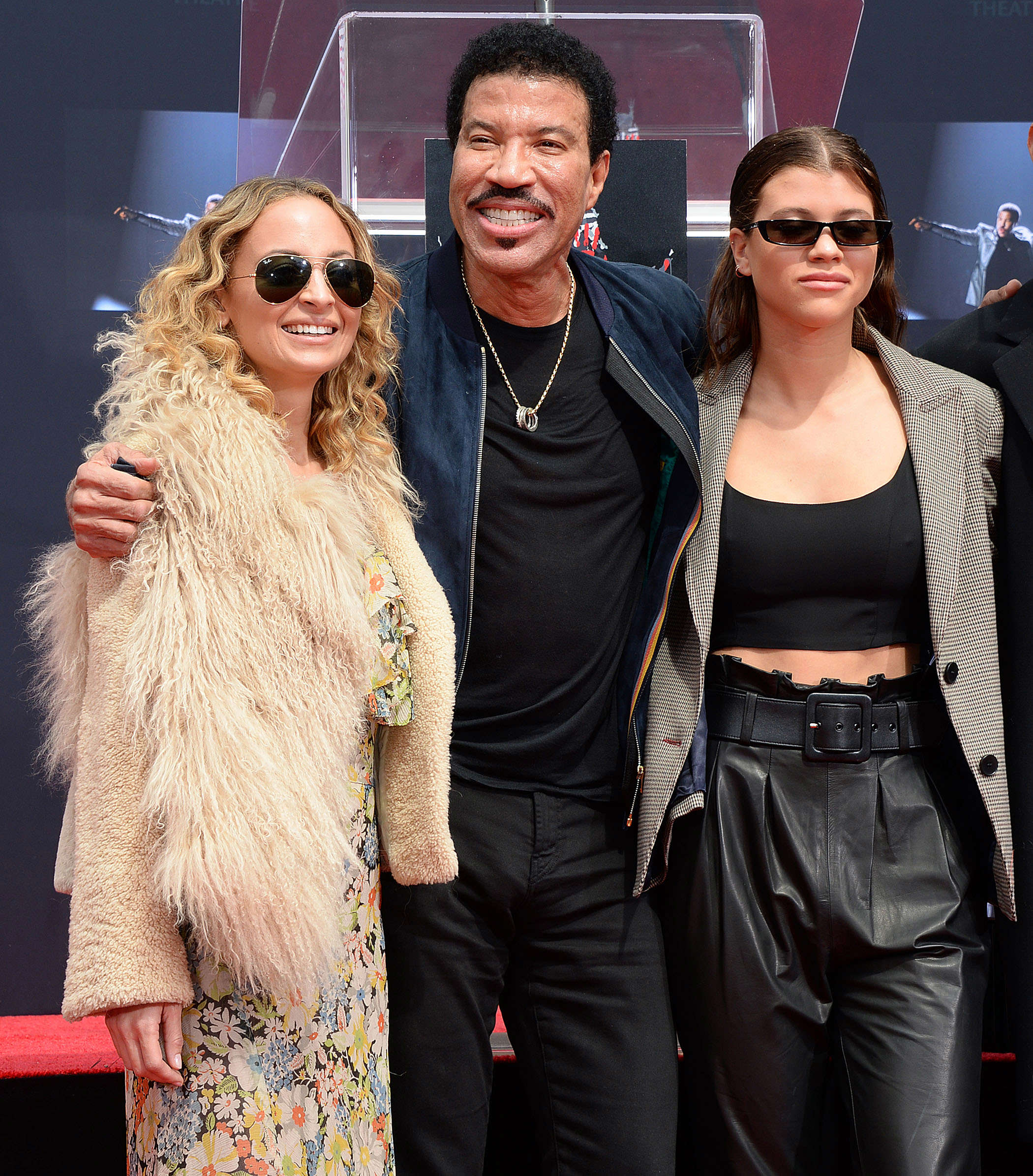 Slide 12 of 18: Lionel Richie Hand and Footprint Ceremony, Los Angeles, USA - 07 Mar 2018