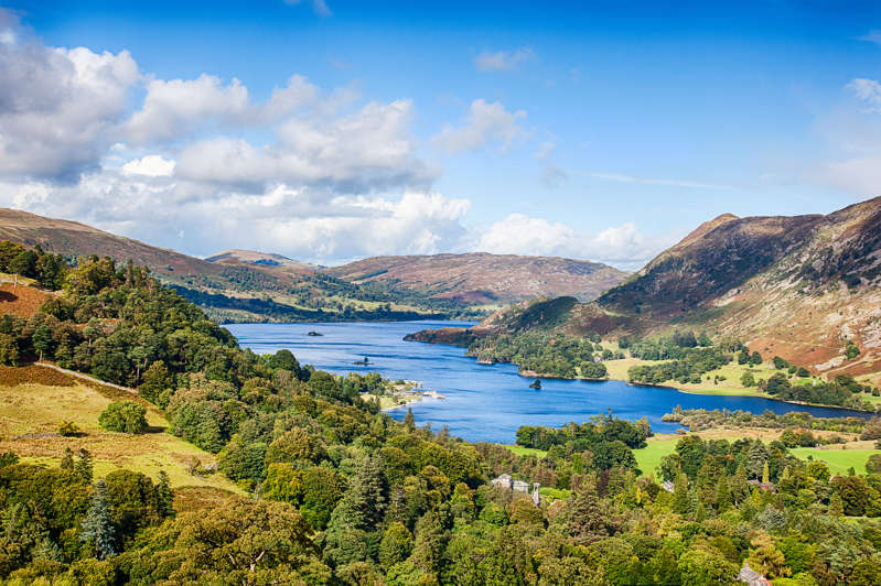 Ullswater from Above Patterdale on an Autumn day