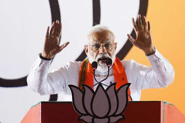 Why is award-wapsi gang silent on Alwar rape?' asks PM Modi