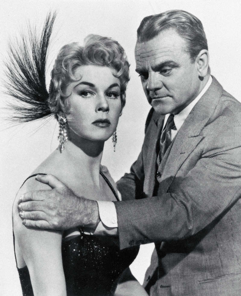 (Original Caption) Doris Day and James Cagney in a scene from the movie: Love Me or Leave Me.