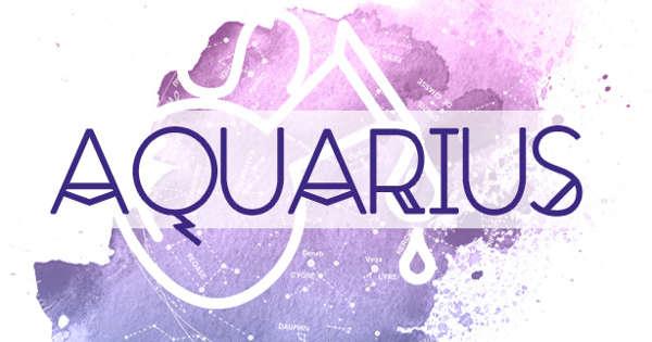 Aquarius: Your daily horoscope - May 15