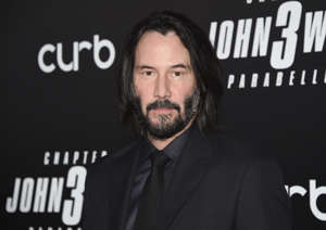 "CAPTION: Actor Keanu Reeves attends the world premiere of ""John Wick: Chapter 3 - Parabellum"" at One Hanson on Thursday, May 9, 2019, in New York. (Photo by Evan Agostini/Invision/AP)"