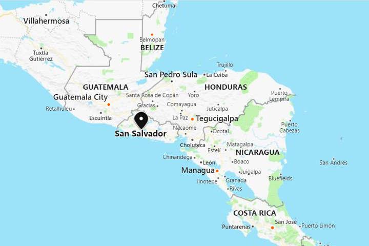 Earthquake shakes El Salvador and Nicaragua on el gouna egypt map, de france map, de monaco map, el pueblo de los angeles map, tuxtla gutierrez mexico map, de florida map, el paraiso honduras map, el monte ca street map, el nido palawan philippines map, de israel map,