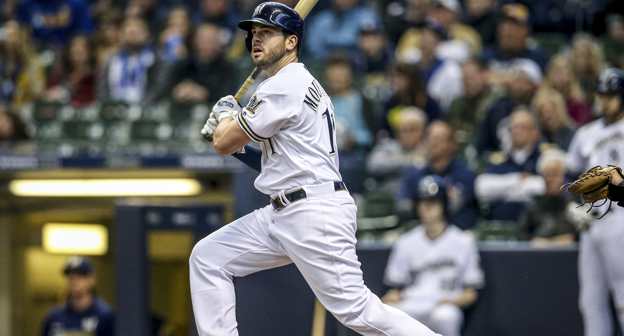 finest selection f6cd1 867f7 Mike Moustakas #11 News, Stats, Photos - Milwaukee Brewers ...
