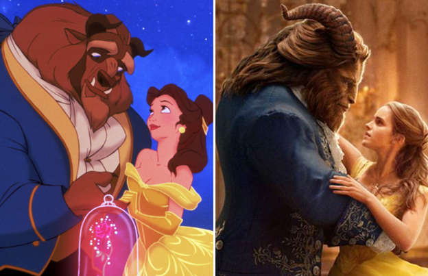 Disney animated classics remade into live-action movies