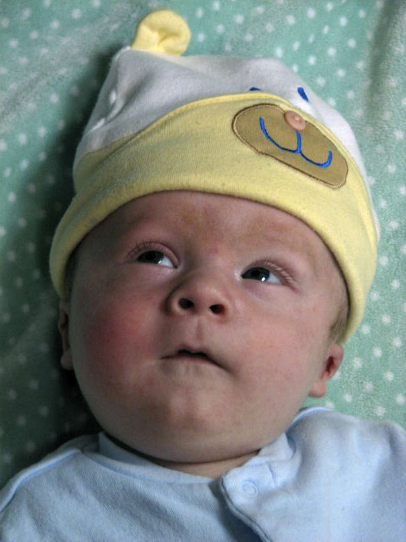 (ML) CDXXGARDEN -- Four-month-old Cash Scanlon-Phillips died May 14, 2007 from spinal muscular atrophy. His parents want to build a garden in his memory outside Children's Hospital that could be a place of respite where parents or nurses could took a break. Photo courtesy of Tess Scanlon-Phillips. (Photo By Karl Gehring/The Denver Post via Getty Images)