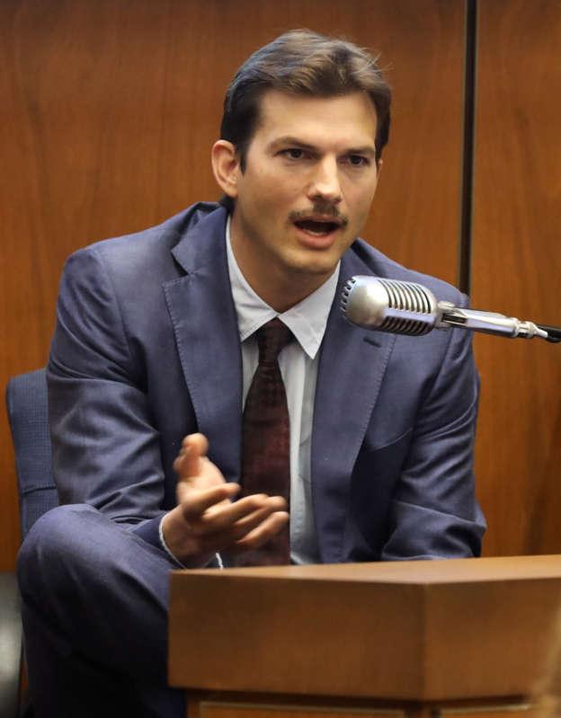 Ashton Kutcher testifies in trial of serial killer suspect Michael