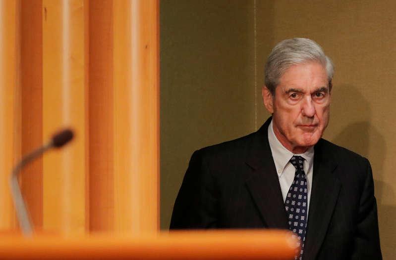美国特别顾问罗伯特·穆勒于2019年5月29日在美国华盛顿司法部就俄罗斯干涉2016年美国总统大选的调查作出首次公开评论。路透社/吉姆·伯格