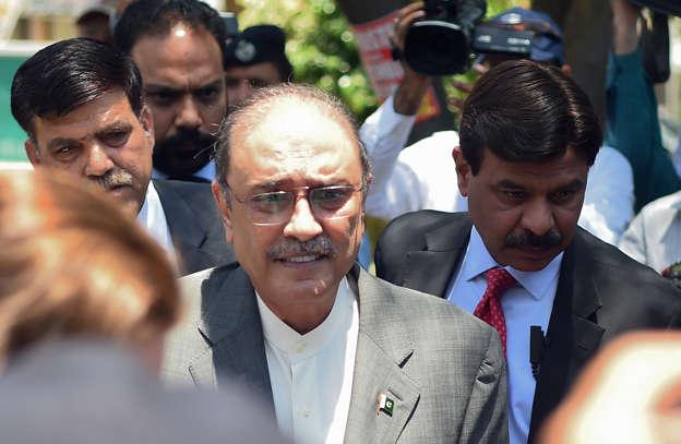 Zardari arrested by NAB after IHC rejects bail plea, taken