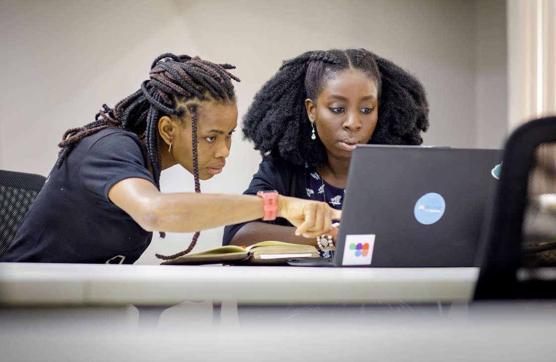 Lagos, Nigeria - November 16: Co-Creation Hub, on November 16, 2018 in Lagos, Nigeria. (Photo by Thomas Imo/Photothek via Getty Images)