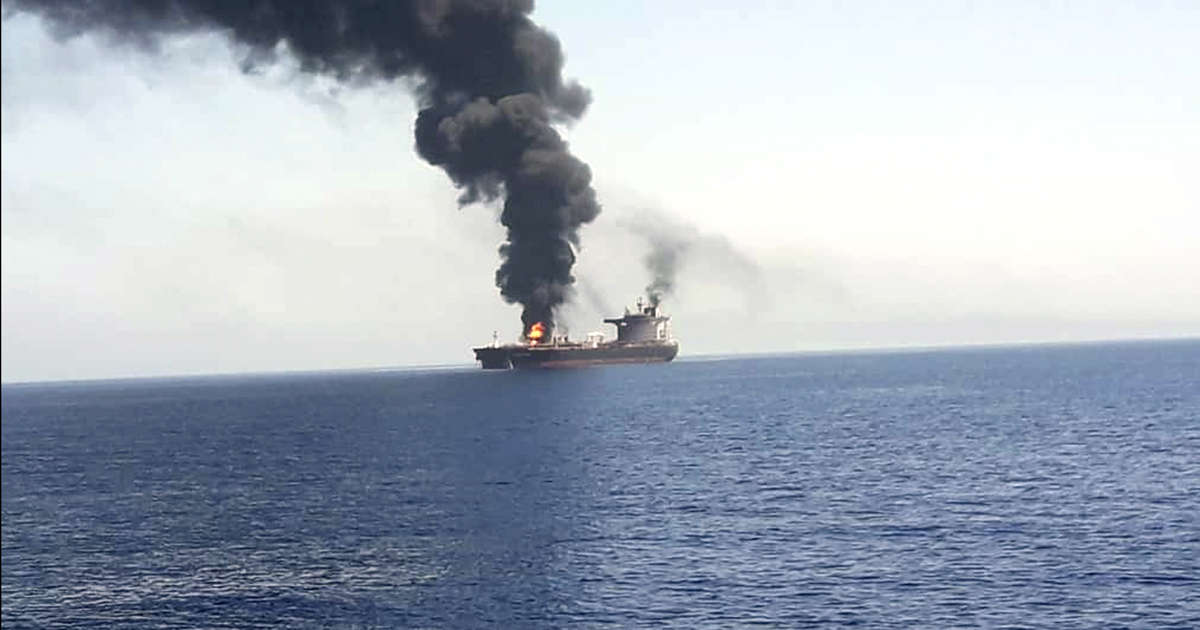 Tankers Attacked Again in Gulf of Oman, Raising Fears of