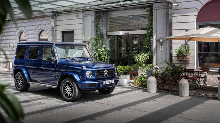 Mercedes Classe G >> Mercedes Celebrates G Class Anniversary With Exclusive