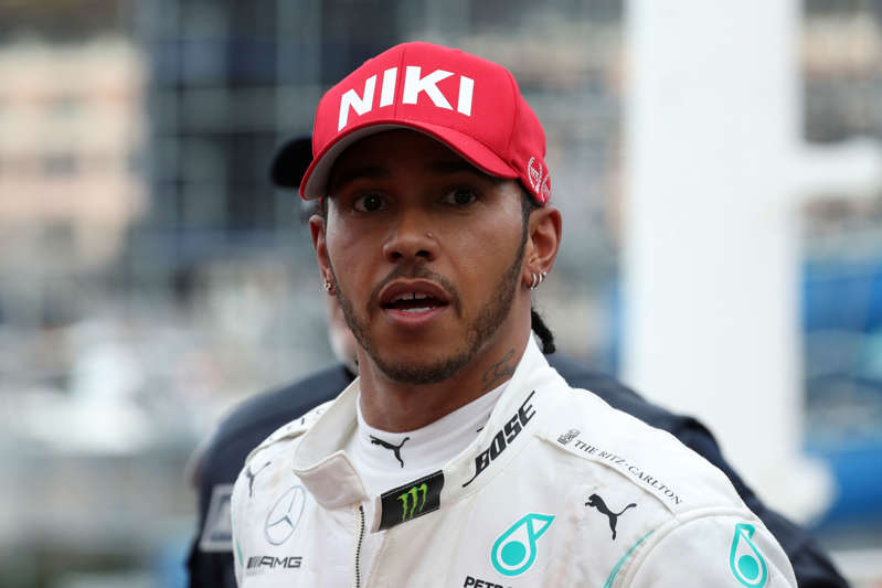 MONTE CARLO, MONACO - 2019/05/26: Lewis Hamilton of Mercedes AMG Petronas Motorsport   in parc ferme after the F1 Grand Prix of Monaco. (Photo by Marco Canoniero/LightRocket via Getty Images)