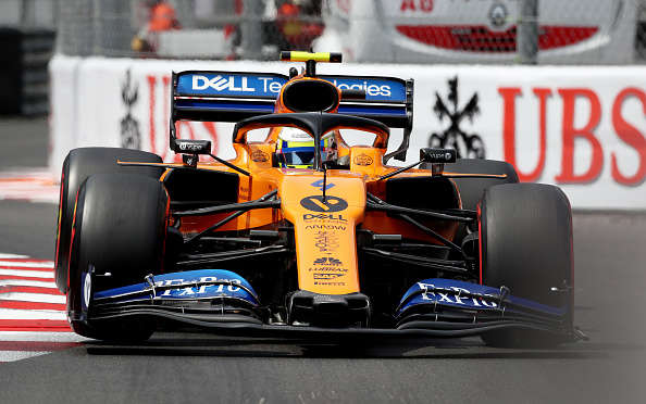 McLaren's Lando Norris during qualifying at the Circuit de Monte Carlo, Monaco. (Photo by David Davies/PA Images via Getty Images)